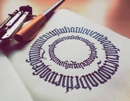 Calligram III by WhiteSylver