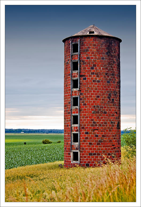 Brick Silo by bacardi870