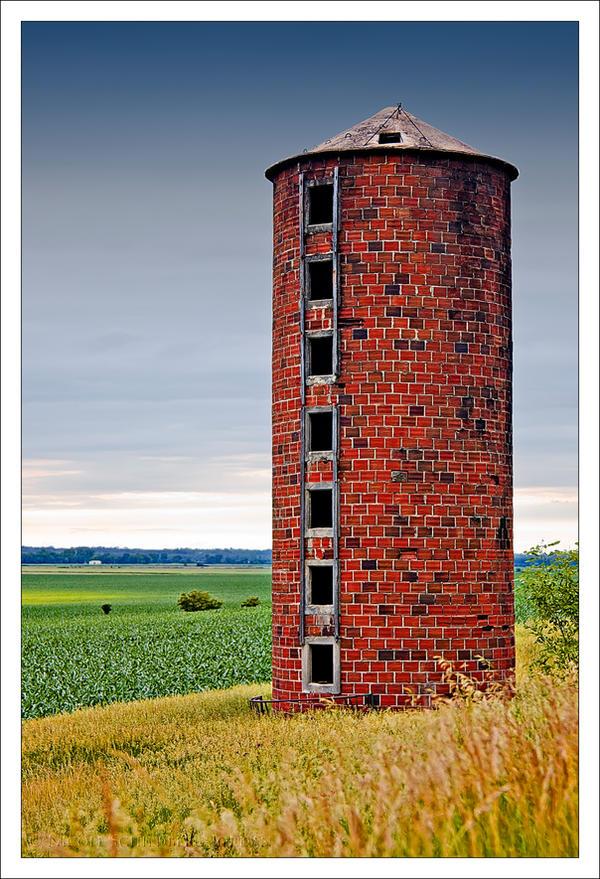 Brick Silo by bacardi870