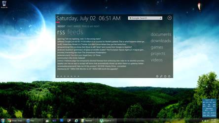 July 2011 Desktop by sevenalive