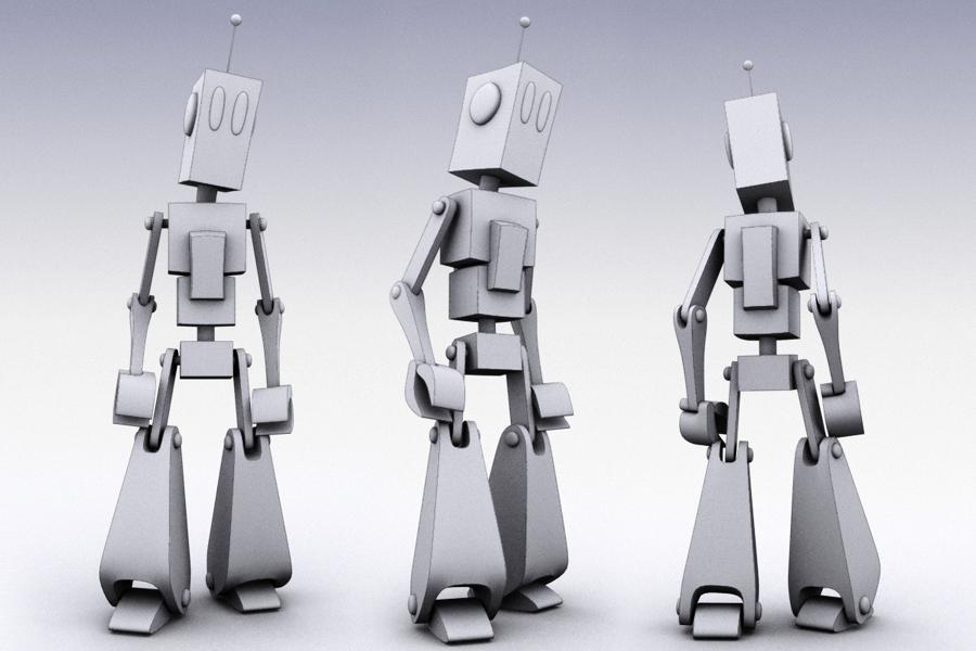 White Robot by E1design