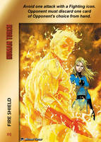 Human Torch Special - Fire Shield by overpower-3rd