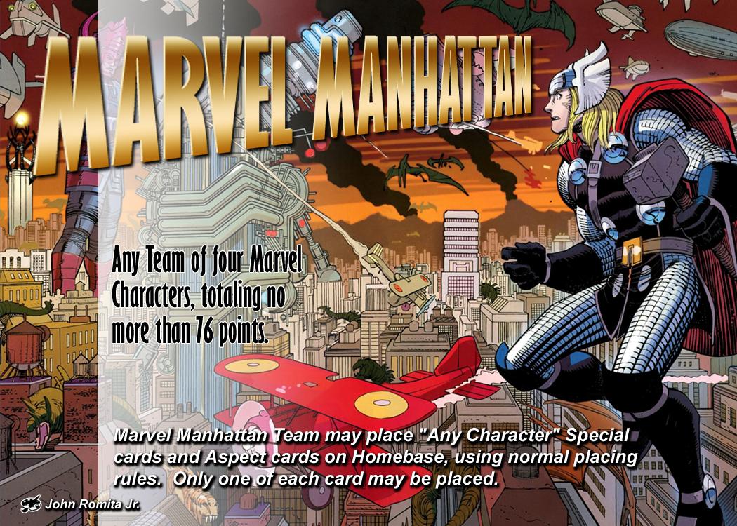 Marvel Manhattan Location by overpower-3rd
