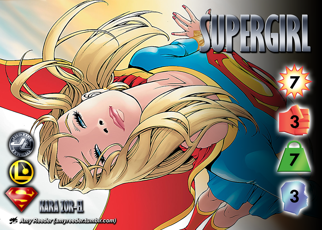 Supergirl (Kara Zor-El) Character by overpower-3rd