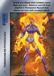 Starfire Special - Tamaranean Physiology