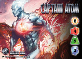 Captain Atom (Nathaniel Adam) Character by overpower-3rd