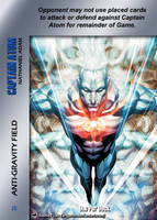 Captain Atom Special - Anti-Gravity Field by overpower-3rd