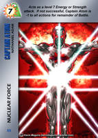 Captain Atom Special - Nuclear Force by overpower-3rd