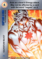 Captain Atom Special - Quantum Blast by overpower-3rd