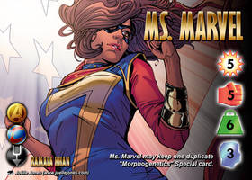 Ms. Marvel (Kamala Khan) Character by overpower-3rd