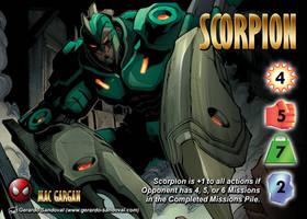 Scorpion (Mac Gargan) Character by overpower-3rd