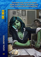 She-Hulk Special - Legal Defense by overpower-3rd