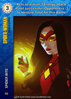 Spider-Woman Special - Spider Bite by overpower-3rd