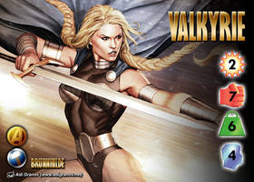 Valkyrie (Brunnhilde) Character by overpower-3rd