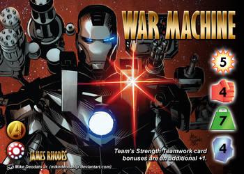 War Machine (James Rhodes) Character by overpower-3rd
