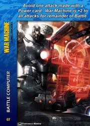War Machine Special - Battle Computer by overpower-3rd