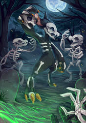 Spooky Scary Skeletons ((DTA Entry)) by chuchy07