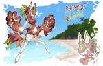 Coconut Lover - Scarfox Flatsale Raffle - CLOSED