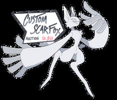 Custom Scarfox Auction - CLOSED