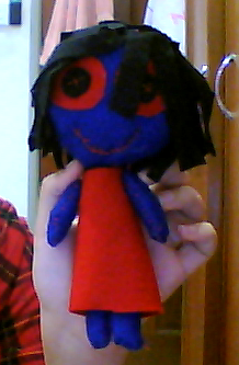 ::CRAFT:: Blue doll by feiru39
