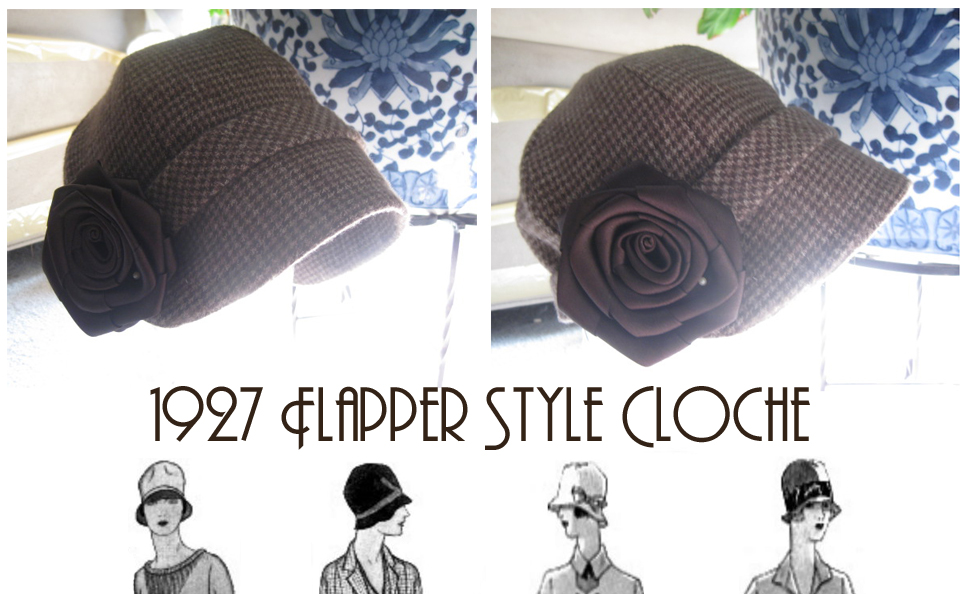 Flapper Cloche Hat by Archer-1 on DeviantArt