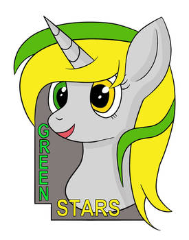 Headshot Green Stars