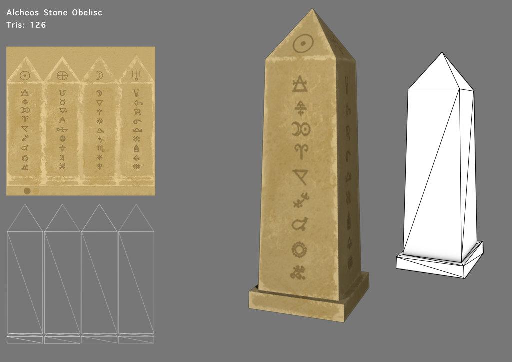 Alcheos - Stone Obelisk by SoulChainXIII