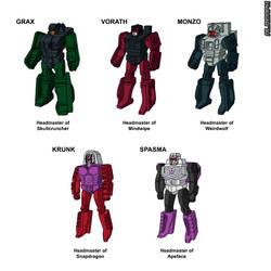 Colorization of Sunbow's Decepticon Headmasters