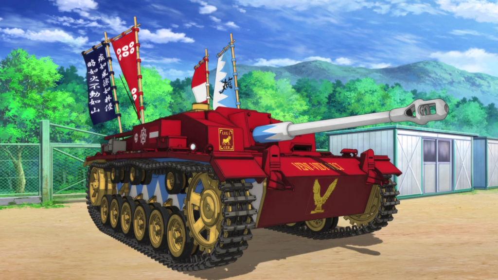 StuG III Girls und Panzer by Claython on DeviantArt