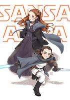 Star wars theme : Girls of Stark planet by Janenonself