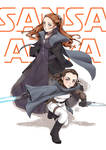 Star wars theme : Girls of Stark planet