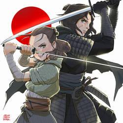 Star wars viii: samurai theme by Janenonself