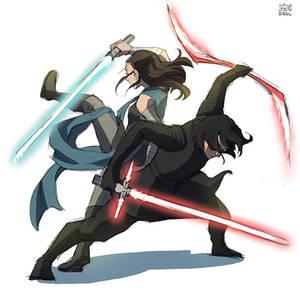 Star wars VIII : Light . Dark