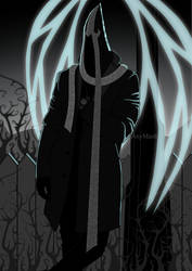 Malthael - noir angel by Nastea-AnyMash