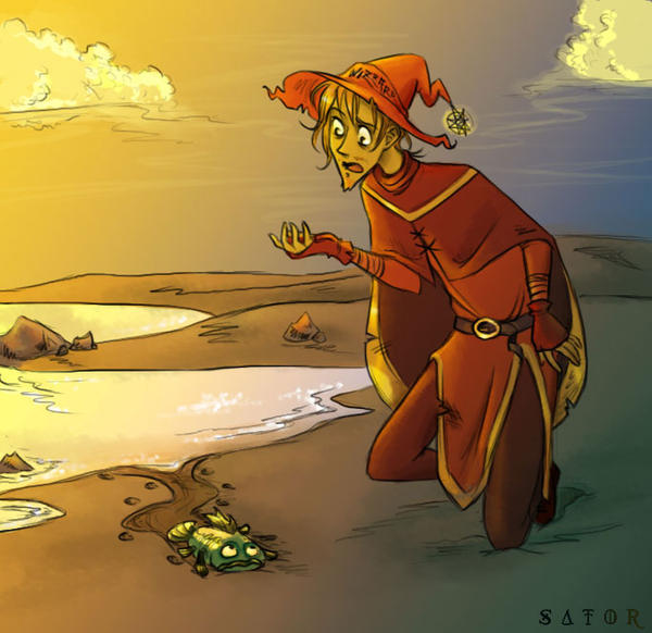 Rincewind-Evolution by StormBay