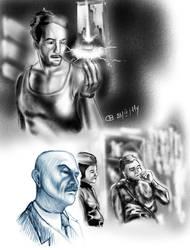 sketch of people by MrSViks