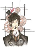 Steampunk Dandy by syd-vicious29