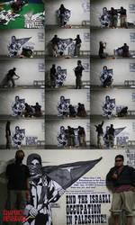 Free Palestine -Paste Works-