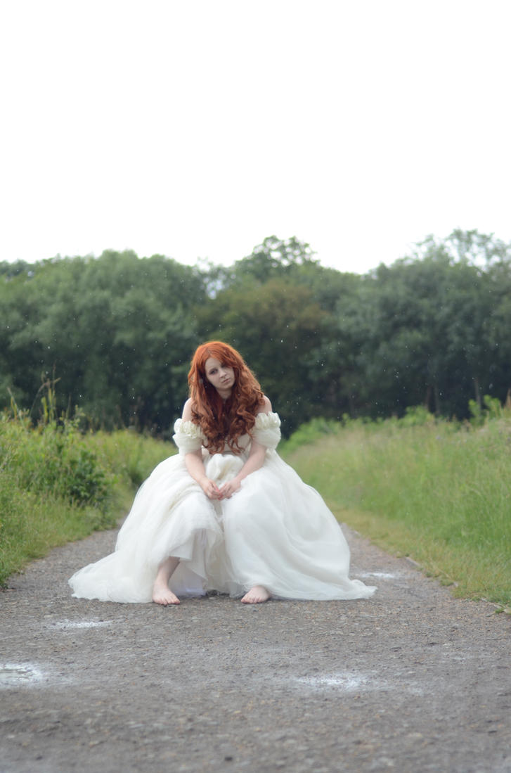 White dress 02 by GifsandStock