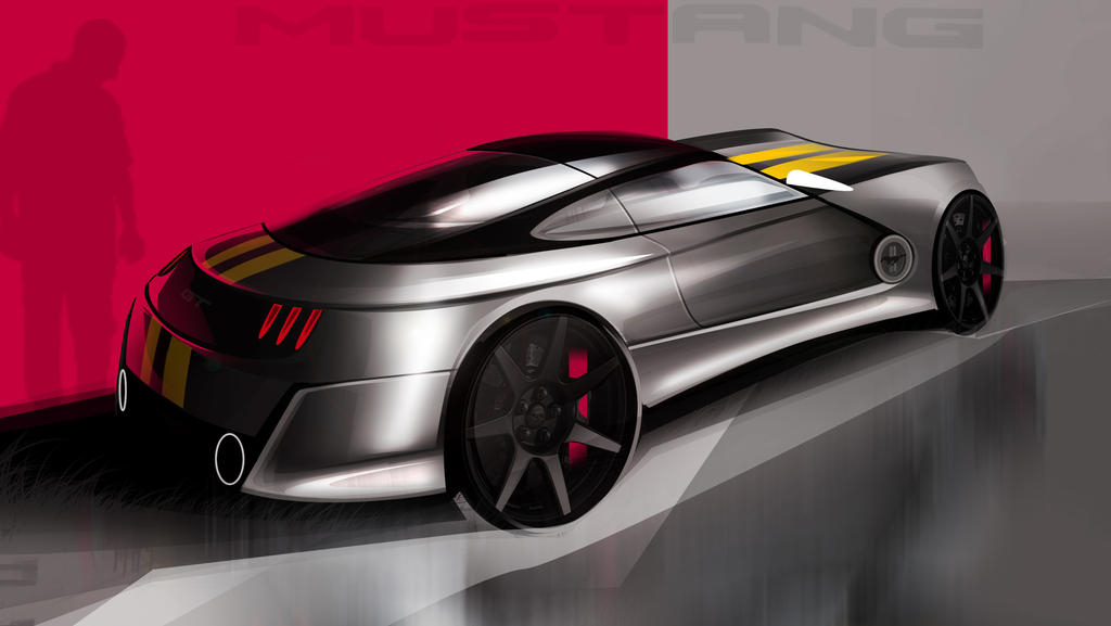 mustang by szabodesign1