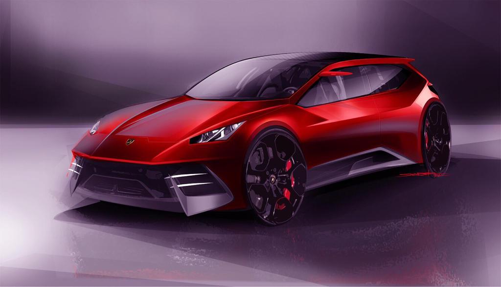 Lamborghini sketch by szabodesign1