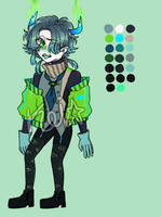Adoptable Auction #9 || CLOSED by Koinezu