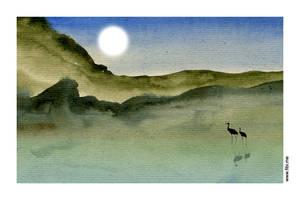 Full moon by msFiBi