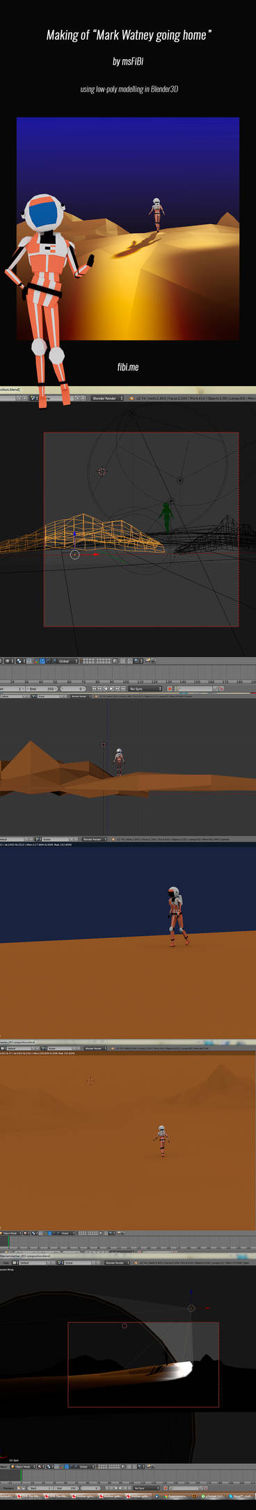 Martian Makingof by msFiBi