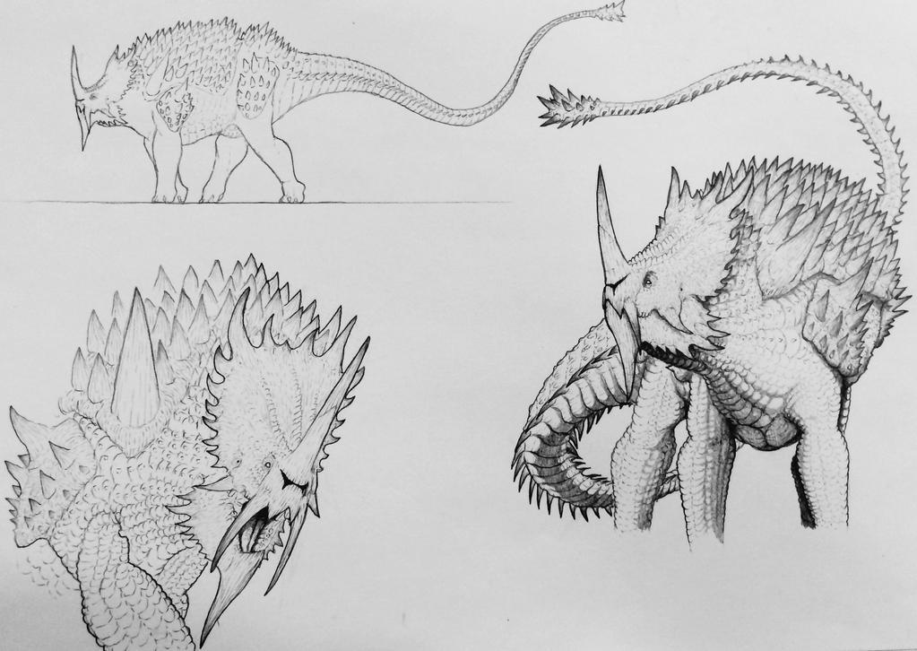 Anguirus Concept Art Anguirus: The I...