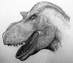 Another Rex Portrait  by TheGreatestLoverArt
