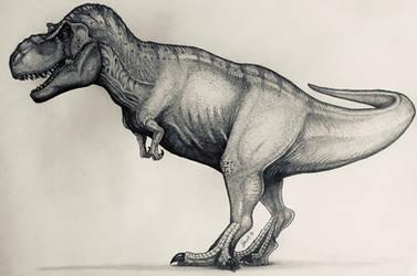 JP Female T-Rex by TheGreatestLoverArt