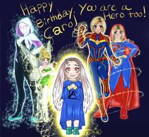Happy birthday (to a friend)