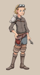 Young Mechanic by MattPilh
