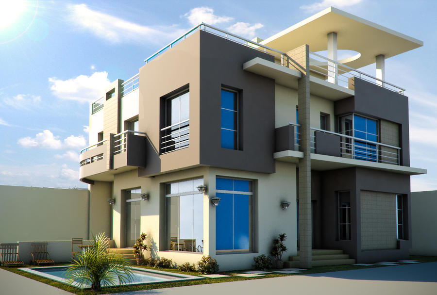moderne villa by uticlive - photo #12
